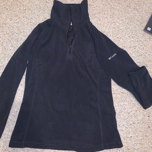 Dark grayColumbia soft quarter zip jacket/pullover